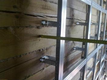 Алюминиевый каркас для вентилируемых фасадов