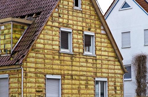 Дом теплоизолированный минеральной ватой