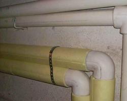 Утепление труб в частном доме