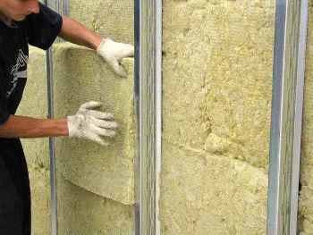 Утепление стен с помощью минеральной ваты Роклайт