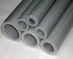 Полиэтиленовый утеплители для труб разных диаметров