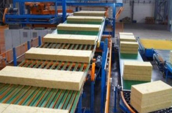 Производственная линия минеральной ваты
