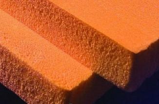 Плиты пеноплекса, вблизи