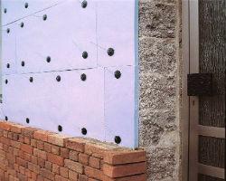 Применение экструдированного пенополистирола для утепления стен
