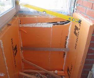 Использование Пеноплекса на балконе