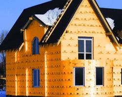 Утепленный пеноплексом дом