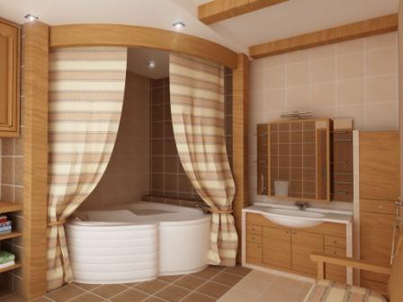 Ванная комната на даче своими руками