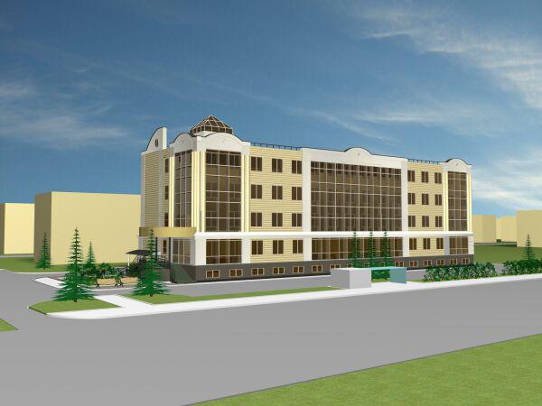 Строительство офисных зданий