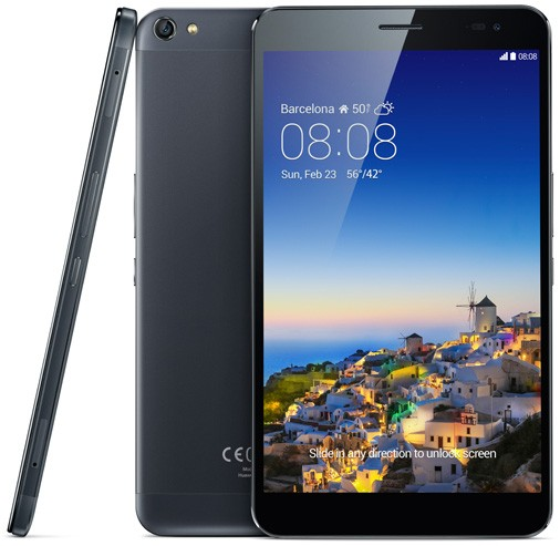 MWC 2014: анонс планшета Huawei MediaPad X1