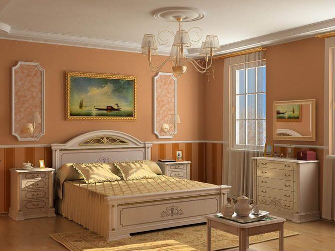 Какую люстру выбрать для спальной комнаты