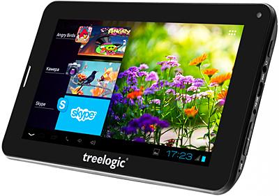 Сегодня поступил в продажу планшет Treelogic Brevis 711 DC 3G