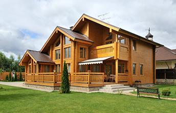 Особенности строения дома из бруса