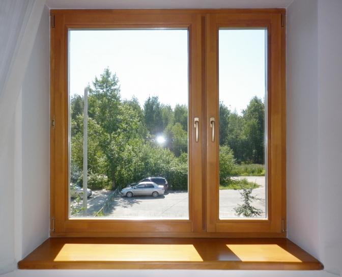 Заказываем деревянные окна со стеклопакетами