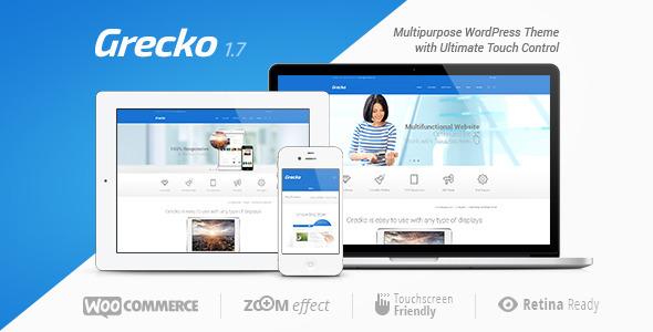 Grecko 1.6 - тема для WordPress (совместима с новыми версиями)