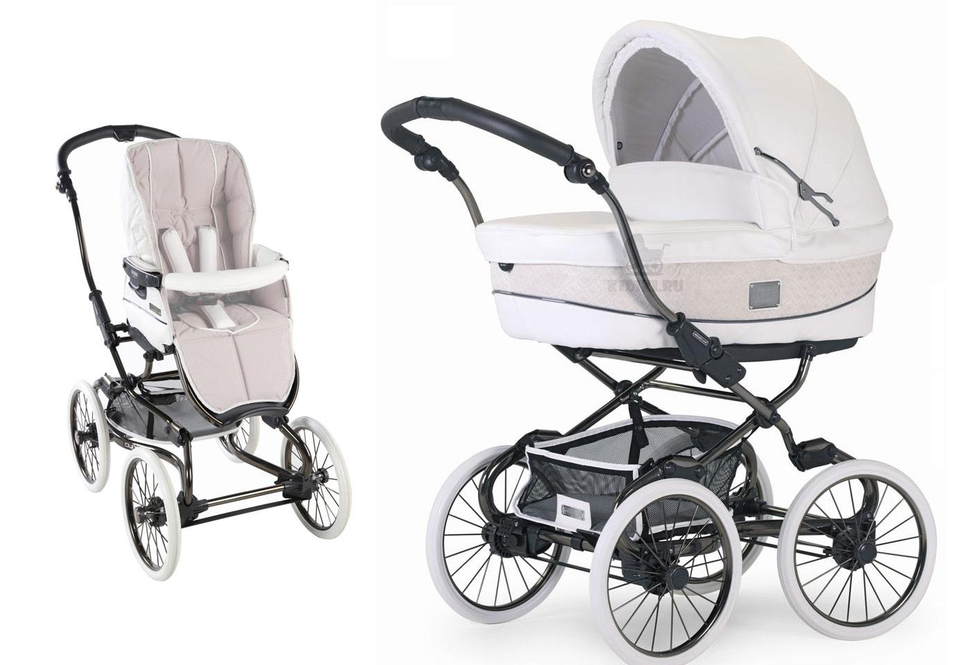 Самые популярные модели колясок 2 в 1.