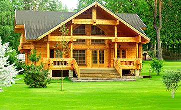 Строительство экологичных домов из бруса и бревна