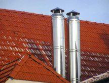 Нержавеющий оцинкованный дымоход – основные преимущества